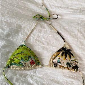 Billabong Bob Marley Jamaica bikini top